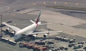 Airbus A380 карантин