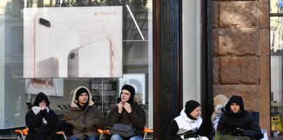 В Екатеринбурге продают место в очереди за новым iPhone за 250 тысяч