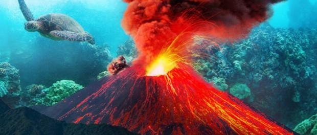 На Гавайях проснулся новый подводный вулкан
