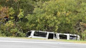 Лимузин авария 20 человек Нью Йорк