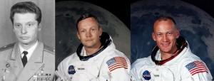Нил Армстронг, Базз Олдрин и Владимир Ильюшин