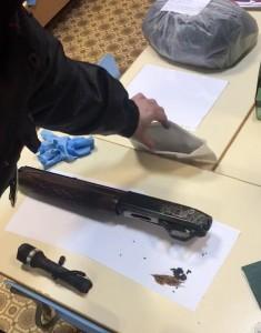 Ружье было оформлено на погибшего мужчину, он охотник