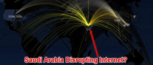 Саудовская Аравия атаковала глобальные сетевые узлы и сервисы США