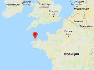 Сен-Поль-де-Леон франция черная дыра