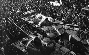 Танки в Чехословакии 1965