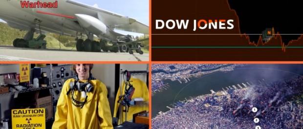 Падающий в бездну индекс Dow Jones говорит о начале Третьей Мировой Войны