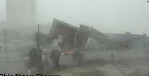 Ураган Майкл разрушенные дома