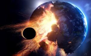 аннигиляция и полная катастрофа Земли