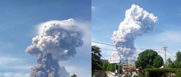 После цунами в Индонезии начал извержение вулкан Сопутан