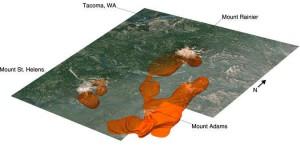 магниматическая лава Рейнир находится ближе к Сиэтлу