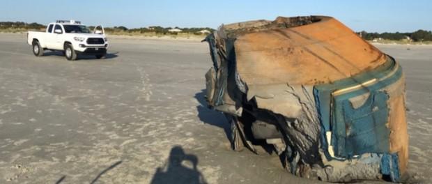 Объект на пляже Северной Каролины завел военных и ученых  в тупик