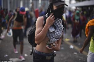 провокаторы в караване мигрантов США Мексика