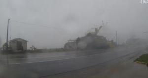 разрушенные дома фото ураган Майкл