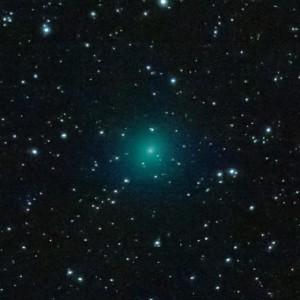 снимок кометы Виртанена