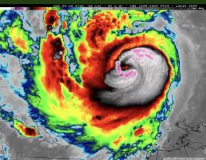 ураган Майкл чудовище на карте погоды