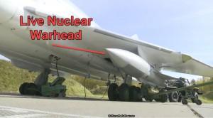 учения в боевых частях которой находятся самые настоящие ядерные боеприпасы