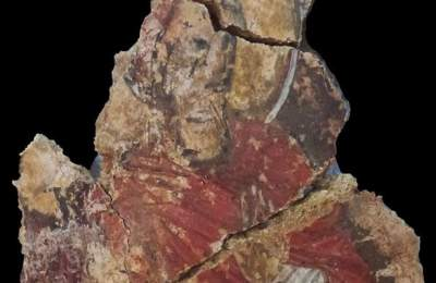 В Болгарии найдена уникальная фреска с Христом