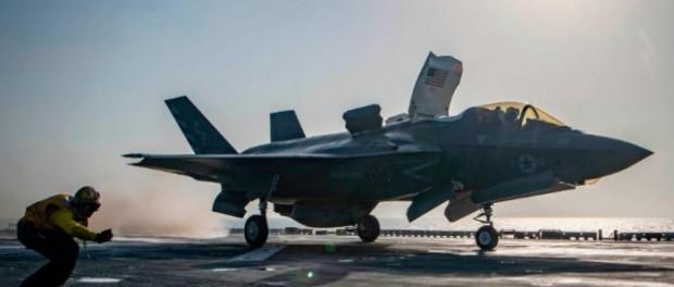Все истребители F-35 запрещены: их можно взломать паролем 1111
