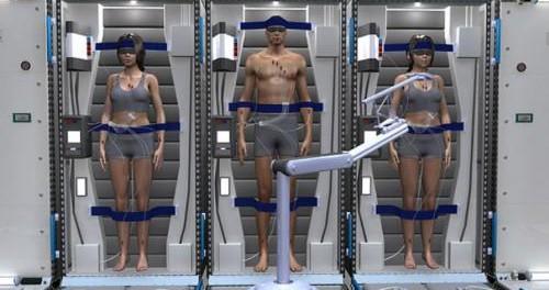 До полета на Марс космонавтов будут вводит искусственную кому