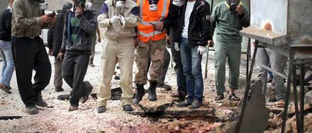 «Белые каски» опять взялись за старое  химоружие в Сирии