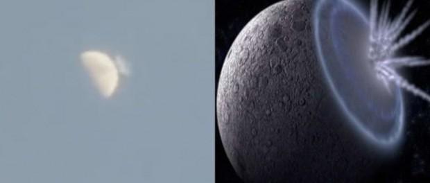 Орбиту Луны сместил упавший астероид (видео)