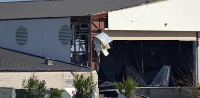 Ураган Майкл уничтожил истребили f-22