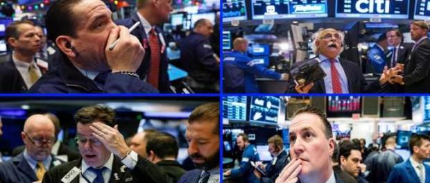 Dow Jones продолжает падение и никто не знает: почему?