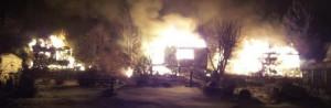 Пожар в Солнечном