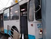 Троллейбу сбил пешехода Екатеринбург