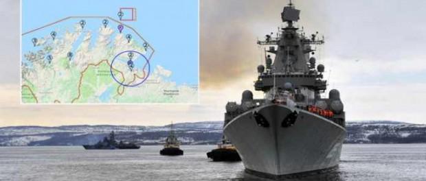 Россия испытывает новое оружие на NATO в Норвежском море