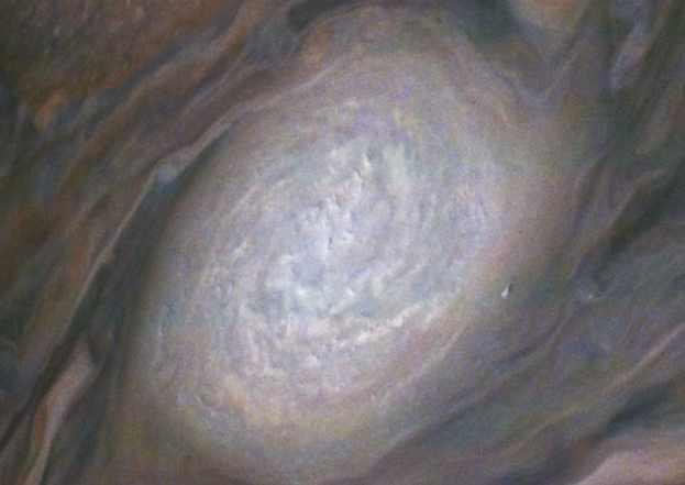 Юпитер белое гигантское пятно