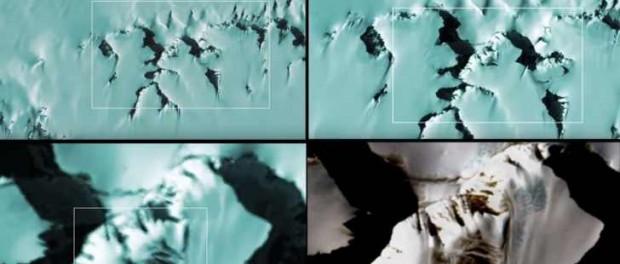 В Антарктиде искусственные развалины напугали весь мир