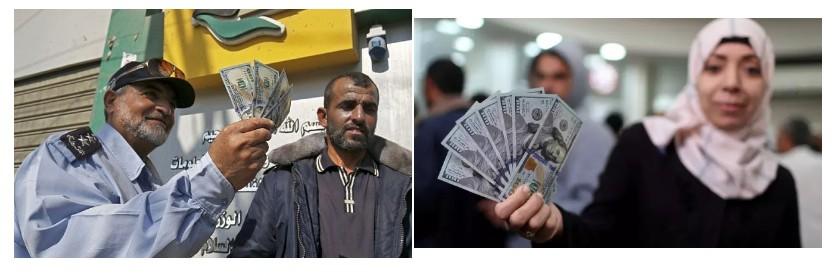 деньги заплаченные в Газе Израилем