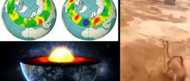Ядро Земли начинает сильно разогреваться вызывая катаклизмы по всей планете