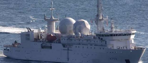 К Сирии появился корабль разведчик Франции «Дюпюи-де-Лом»