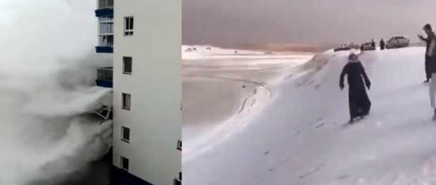 Зима в Греции и в Саудовской Аравии говорит о приближении Конца Света