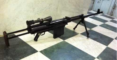 Снайперская винтовка неизвестного происхождения замечена в Йемене