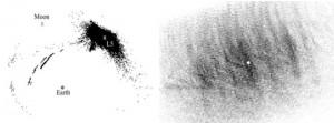 новых свидетельства двух пыльных облаков или пылевых лун