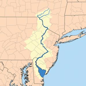 река Делавэр штат Нью-Джерси