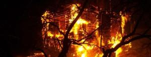 сгорели одиннадцать домов на московском тракте