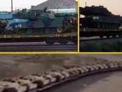 эшелон танков