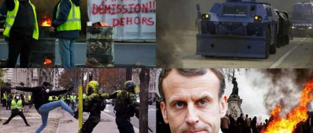 Забастовки в Париже. Прямой эфир