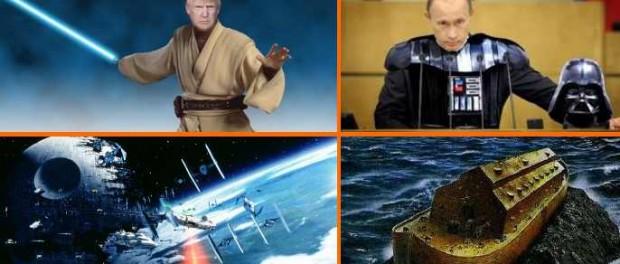 Звездные война начинаются над Ираном