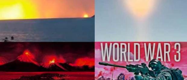 Кровавые рассветы Нибиру видны по всей планете
