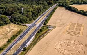 Рисунки на полях Англия