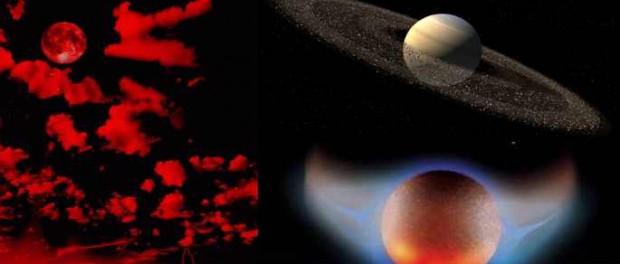 Кольца Сатурна начали плавиться от Нибиру