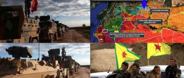 В Сирии намечается большая война между Турцией и Россией