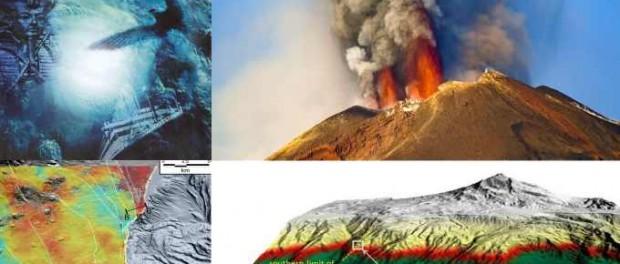 Сицилия и вулкан Этна от землетрясений сползают в воду