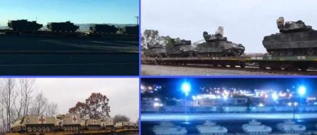 Видео подготовки Америки к Третьей Мировой Войне по всему миру