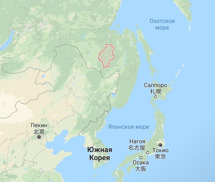 Хабаровский край метеорит сопка